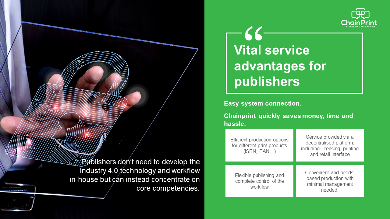 Vital service advantages for publishers